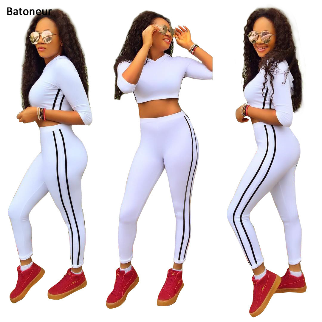 Batoneur Womens Sets Half Sleeve T Shirt Tops And Shorts Sweat Suits Women Summer Tracksuits Runway Outfit Two Piece Sets ...