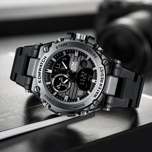 Image 2 - Relogio Masculino KDM Fashion Men Sport Watch 2019 Male LED Digital Quartz Wrist Watches Mens Top Brand Luxury Digital Watches