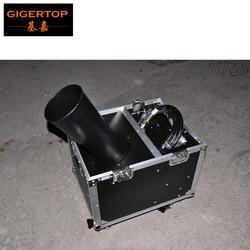 TP-T186 maszyna konfetti z 4 metrowym wężem konfetti Cannon Shoot 10 Meter CO2 maszyna przez Flightcase Pack DMX512/Power/Manual