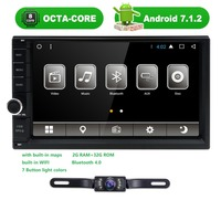 2 32 2Din 7 Android7 1 Univeral Car Radio NoDVD Player GPS Navigation Car Stereo FM