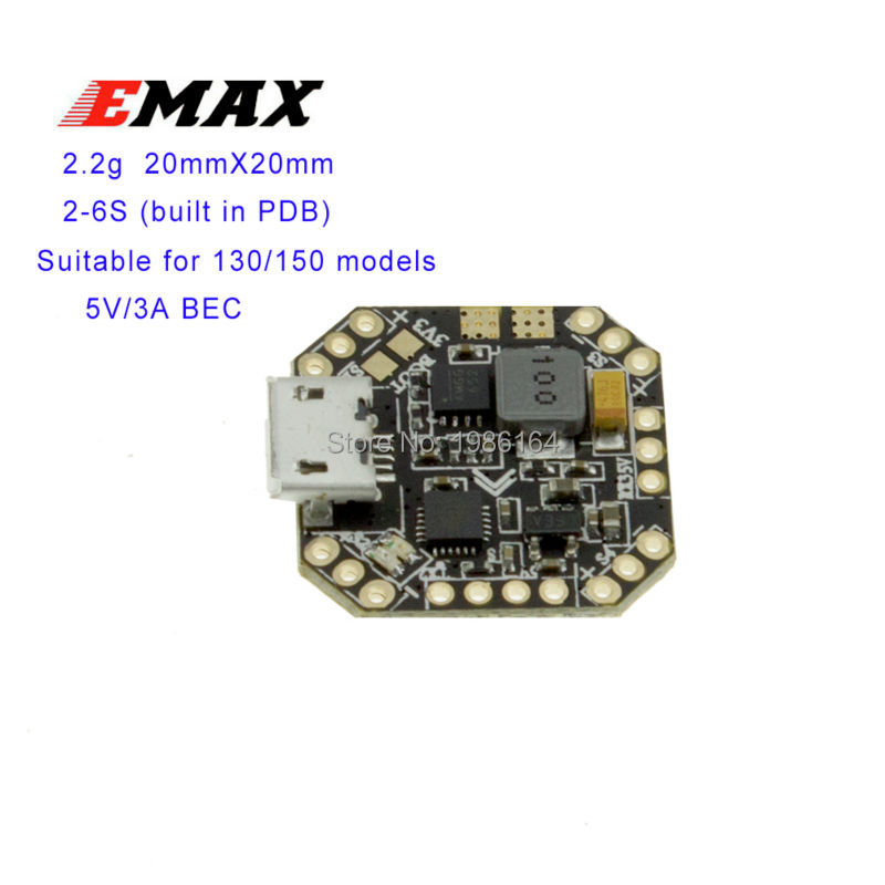 Genuine EMAX F3 Femto Flight Controller Brushless FC Support 2 6S FPV Drone for 130 150 emax femto wiring diagram diagram wiring diagrams for diy car Basic Electrical Wiring Diagrams at reclaimingppi.co