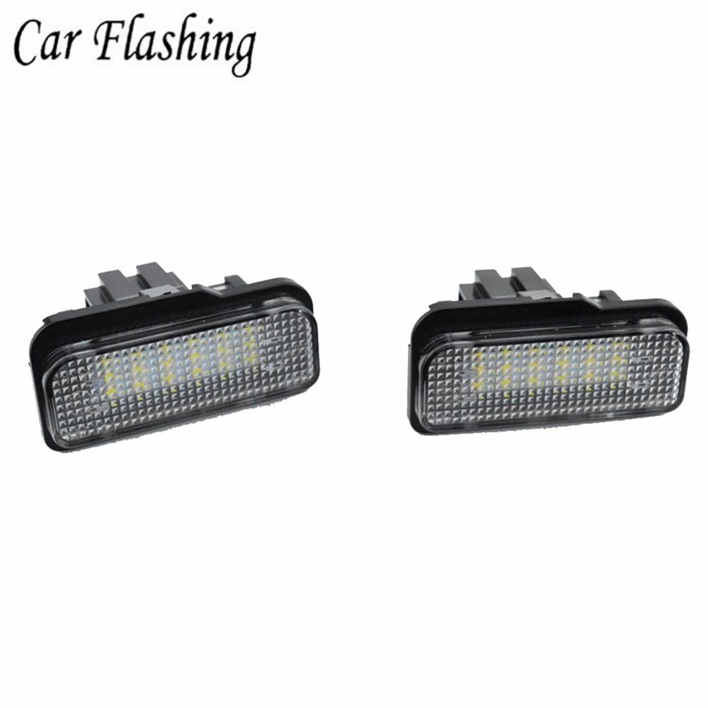 Premium LED Kennzeichenbeleuchtung Mercedes CLS C219 KB26