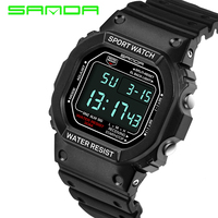2017 New SANDA Men S Watches G Type Digital Watch S Shock Men S Military Waterproof
