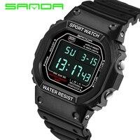 2017 New SANDA Men S Watches G Type Digital Watch S Shock Men S Military Waterproof