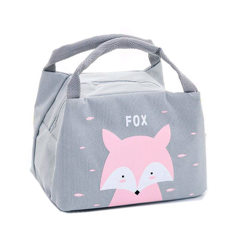Cartoon Animal Unicorn Lunch Bag Portable Girl Waterproof Insulated Big Totes Case Kids Women Thermal Box Cold Canvas Picnic With The Best Service Lunch Bags Luggage & Bags