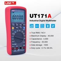 UNI T UT171A TRMS Digital Multimeter 40000 Count AC DC Analog bar NCV VFC OHM Freq Tester USB/Bluetooth Connect Data Storage ETL