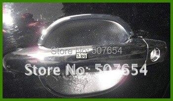 Wyższa gwiazda ABS z Chrome 8 sztuk drzwi osłona klamki + 4 sztuk klamka do drzwi samochodowych miska dla TOYOTA HIGHLANDER 2007-2011