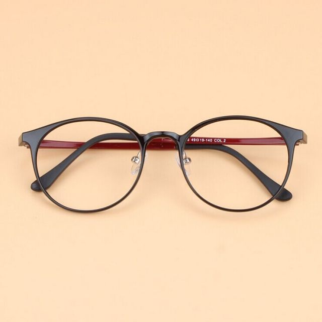 301cab0b10d 2016 High Quality Korea Ultralight Men Retro Round Ultem Tungsten Eyeglasses  Women Fashion Plastic Steel Optical