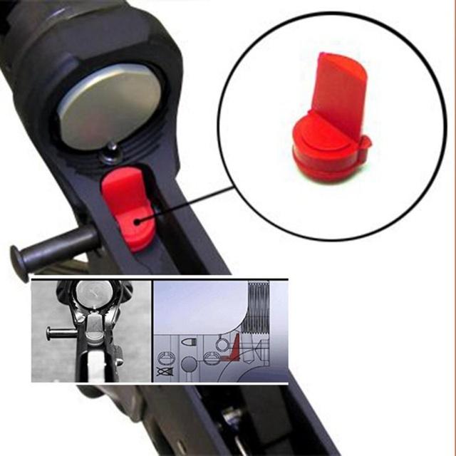 Klinowy odbiornik bufor akcesoria myśliwskie 5 sztuk AR15 M16 guma accu-wedge odbiornik bufor do karabinu polowanie 5 sztuk tanie i dobre opinie Balight CN (pochodzenie) 5Pcs Wedge Receiver Buffer