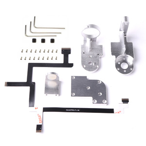 For DJI Phantom 3 SE Gimbal Yaw Arm Roll Arm Bracket Flex Cable Cover Plate Rubber Balls Shock Absorber Gimbal Cover Repair Part