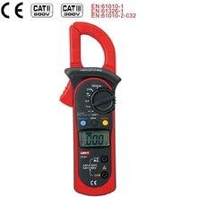 Digital Clamp Meter Multimeter UNI T UT201 400A Auto Range AC Ammeter 600V AC/DC Voltmeter Ohmmeter 1999 Count Diode measure