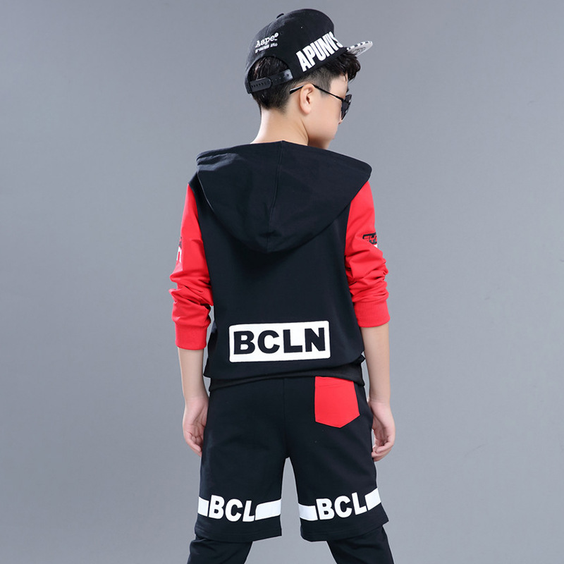 Kids Adults spring summer children's clothing set Red Black Costumes Hip Hop dance Shorts & Leggings & T-shirt kids suits 2016 kids adults spring summer geometric star set black costumes hip hop dance pants