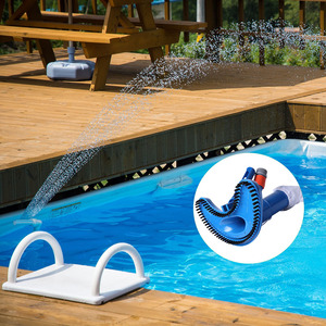 Image 2 - Pool Cleaner Portable Swimming Pool Pond Fountain Vacuum Brush Cleaner Cleaning Tool Outdoor Hot Tubs Accessories Garden Supplie