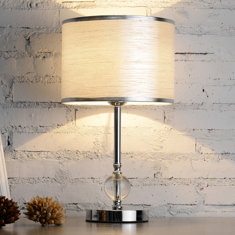 US $92.6 |YOOK 25*46CM Iron Remote Control Table Lamp Bedroom Bedside  Button Switch Table Lamp Simple Modern Table Lamp 220v 110v 27E-in LED  Table ...