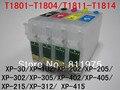 T1811 Многоразового картридж Для Epson XP-30 XP-102 XP-202 XP-205 XP-302 XP-305 XP-402 XP-405 XP-215 XP-312 XP-415 принтера