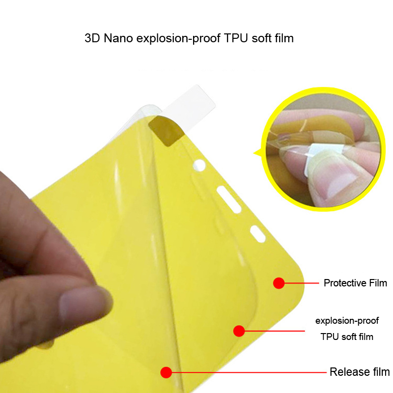 YSW For Sony Xperia XZ3 XZ2 XZ1 Ultra Compact Premium XA2 Plus XA1 Plus Soft Hydrogel Screen Protector Film (Not Glass )