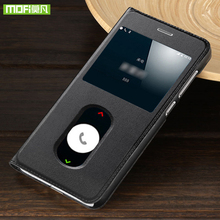 For oneplus 5 case for oneplus 5 case cover flip leather original mofi 360 shockproof for one plus 5 case silicone tpu thin 9784