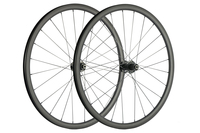 SuperTeam 700C 30mm Carbon Clincher Disc Brake Wheelset matte