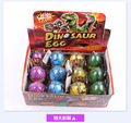 Hot 12pcs/Lot Jurassic park magical dinosaur eggs, dinosaur eggs can be hatched, novel and fun to children as a birthday present