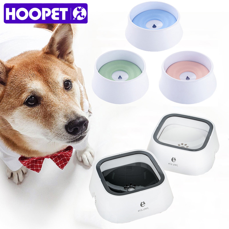 HOOPET Dog Cat Bowl For Small Large Dog Detachable Drinking Water ABS Bowls Pet Accessories