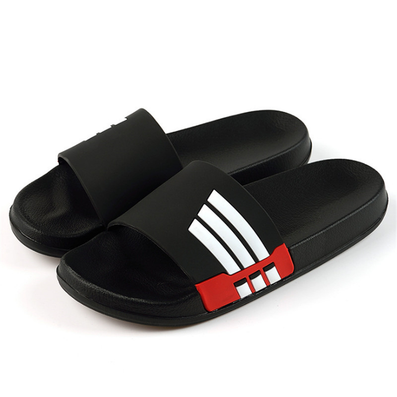 Men Slippers Fashion Flip Flops Male Slides Women Summer Beach Couple Sandals Female Soft Sole Non-slip Shoes Pantoufle Homme(China)