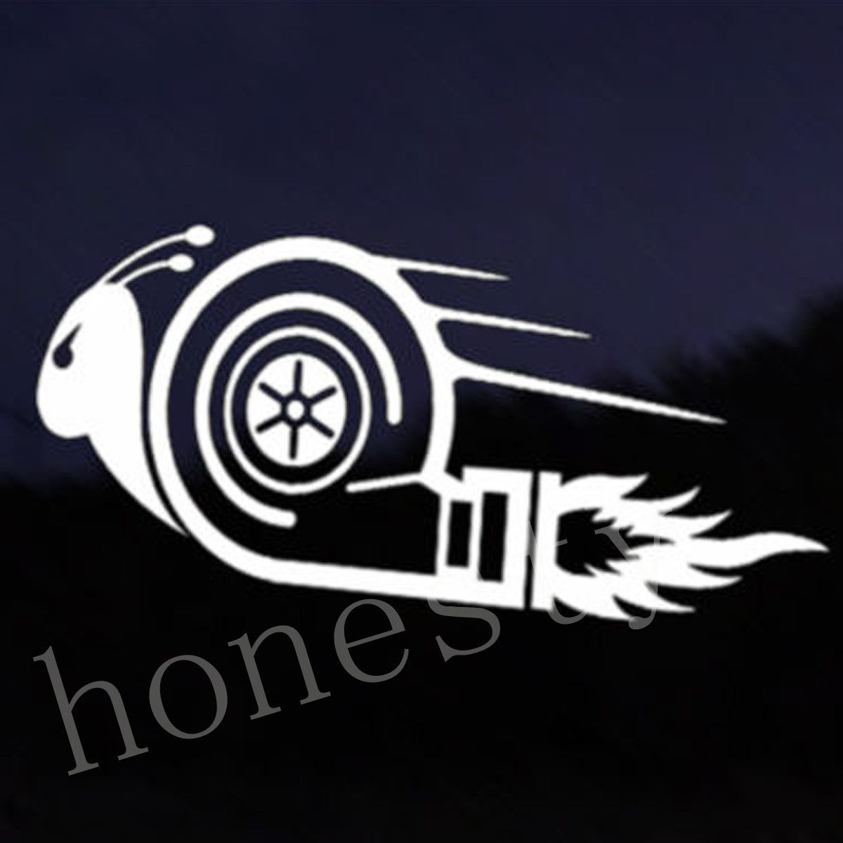 Race car sticker design - Funny Snail Car Decal Vinyl Sticker Jdm Vw Dub Drift Race Euro Swag Impreza Decals White