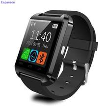 Espanson U8 Смарт часы синхронизации Notifier запястье Для мужчин Для Женщин Bluetooth электроники спортивные Smartwatch для Android ISO телефон