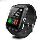 Espanson U8 Smart Watch Clock Sync Notifier Wrist with Men Women Bluetooth Electronics Sport Smartwatch For Android ISO Phone