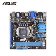 Asus P8H77-I Oryginalny Używany Pulpitu Płyta Główna LGA 1155 i3 i5 i7 H77 USB3 SATA3 DDR3 16G HDMI DVI VGA Mini-itx