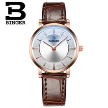 Binger Quartz Watch For Women Lover Wrist Watches Top Luxury Brand Reloj Hombre 2016 New Relogio Montre Orologio Horloge