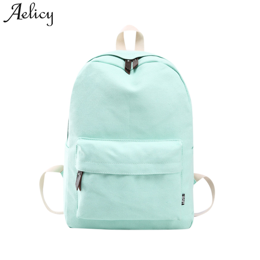 Aelicy Fashion School Backpack Women Schoolbag Back Pack Leisure Korean Ladies Knapsack Laptop Travel Bags for Teenage Girls Boy цены