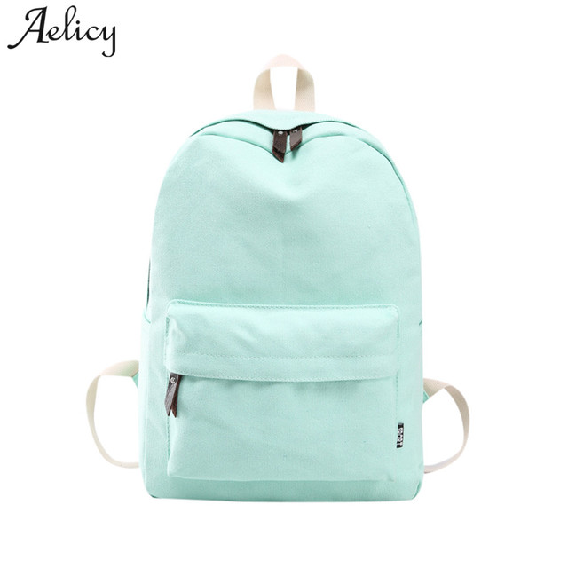 9f1dd135775f Aelicy Fashion School Backpack Women Schoolbag Back Pack Leisure Korean  Ladies Knapsack Laptop Travel Bags for