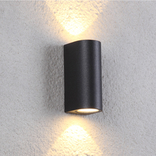 Dimmable LED COB wall lamp up down light indoor outdoor IP65 waterproof porch gorden