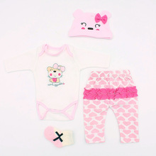 Baby Newborn Clothes 45cm for Dolls Fashion Clothes Set Accessories for Dolls Reborn Baby Doll Accessories 45-A1 Baby Clothing cheap Cotton Rope Wool for about 45cm 18Inch Dolls Suit Keep from fire Unisex Baby Newborn Dolls Cothes Clothes for Dolls Pink Blue Green Orange Brown Gray