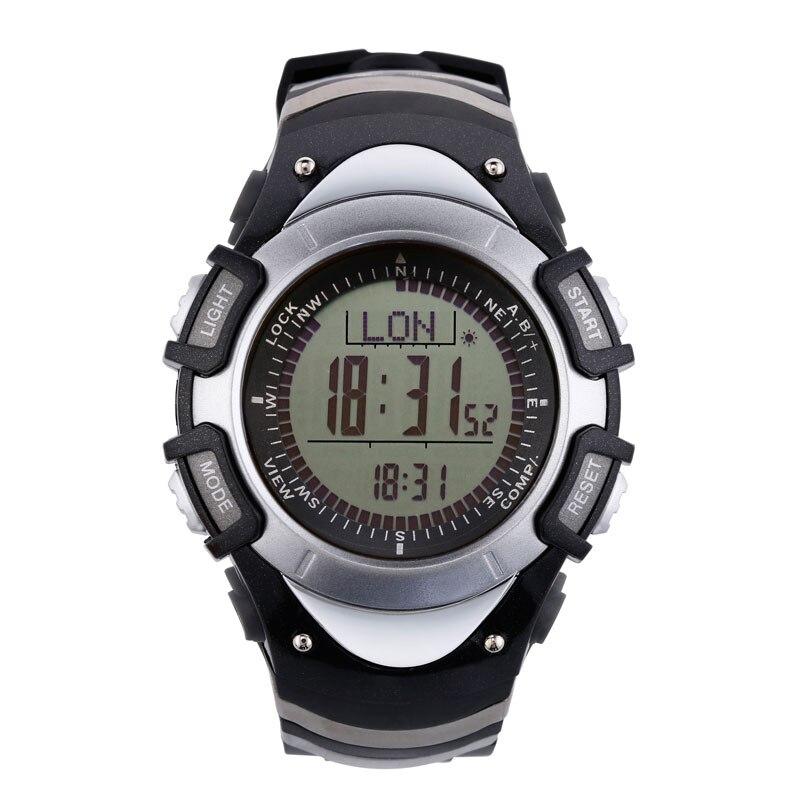 цена  SUNROAD Sports Men Watch FR8204A -Backlight 3ATM Waterproof Watches Compass Stopwatch Pedometer Outdoor Clock Wristwatch Men  онлайн в 2017 году