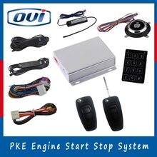 2016 Горячие Продажи Funy Автомобиля Сигнализация С Ключа Система Входа Автомобиля Start Stop Engine