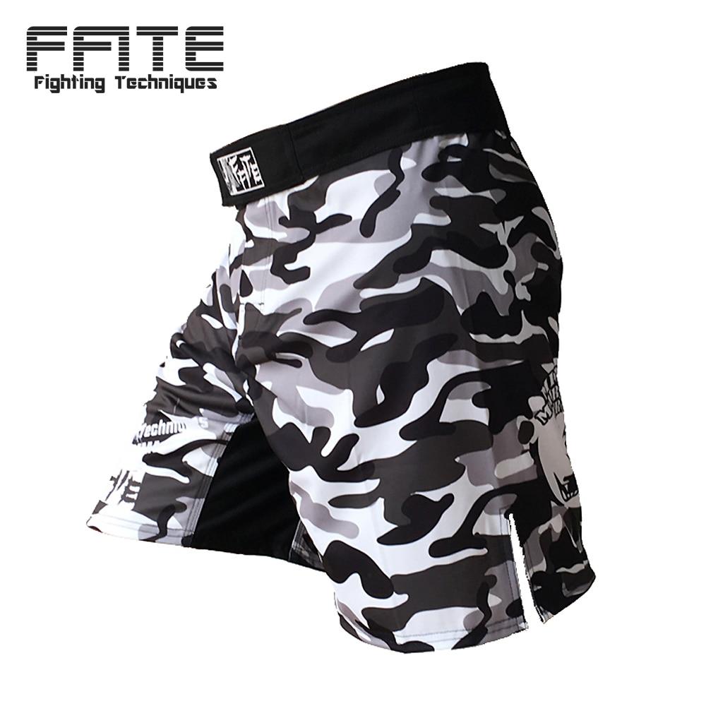 FFITE mma fight court kick boxe fitness hommes shorts sport 2018 court troncs muay thai sanda MMA pantalon trainin grappling pantalon