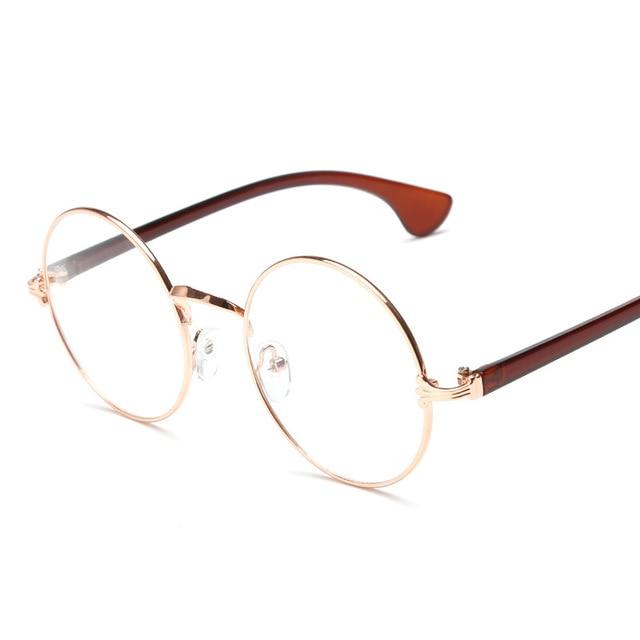 51f9656978 2016 clear lens round women vintage glasses optical frame computer men eyeglass  frames oculos de grau
