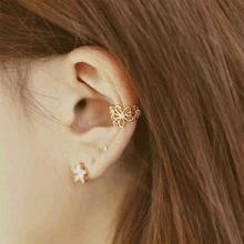 Hollow Out Flower Ear Clip on Earrings No Pierced Ear Cuff Women Earrings 2019 New Fashion Ear Wrap Earcuff Jewelry Gift WD283 стоимость