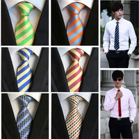 Fuerjia 2018 burst Set/6 adet 8 cm polyester İpek erkek Kravat festivali hediye kravat moda Iş erkek kravat toptan