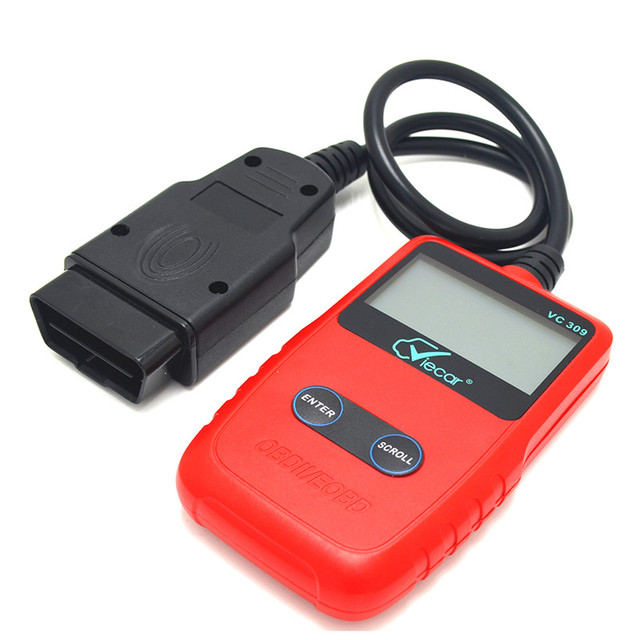 Viecar OBD II Сканер Автомобилей Код Ошибки Читатель МОЖЕТ Диагностический Инструмент Для Чтения и Ясно Коды Ошибок Для Протоколов OBD2 автомобиль