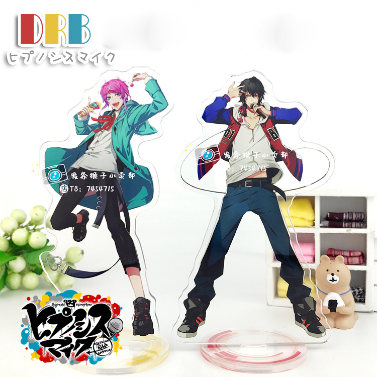 Anime Division Rap Battle Hypnosis Mic DRB MC.B.B MC.M.B MC.L.B Character Cosplay Acrylic Stand Figure Desk Stand Figure Gifts