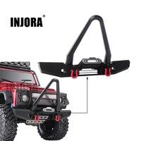 INJORA RC Car Metal Front Bumper 200*120mm for 1:10 RC Crawler Traxxas TRX 4 TRX4 Upgrade Parts