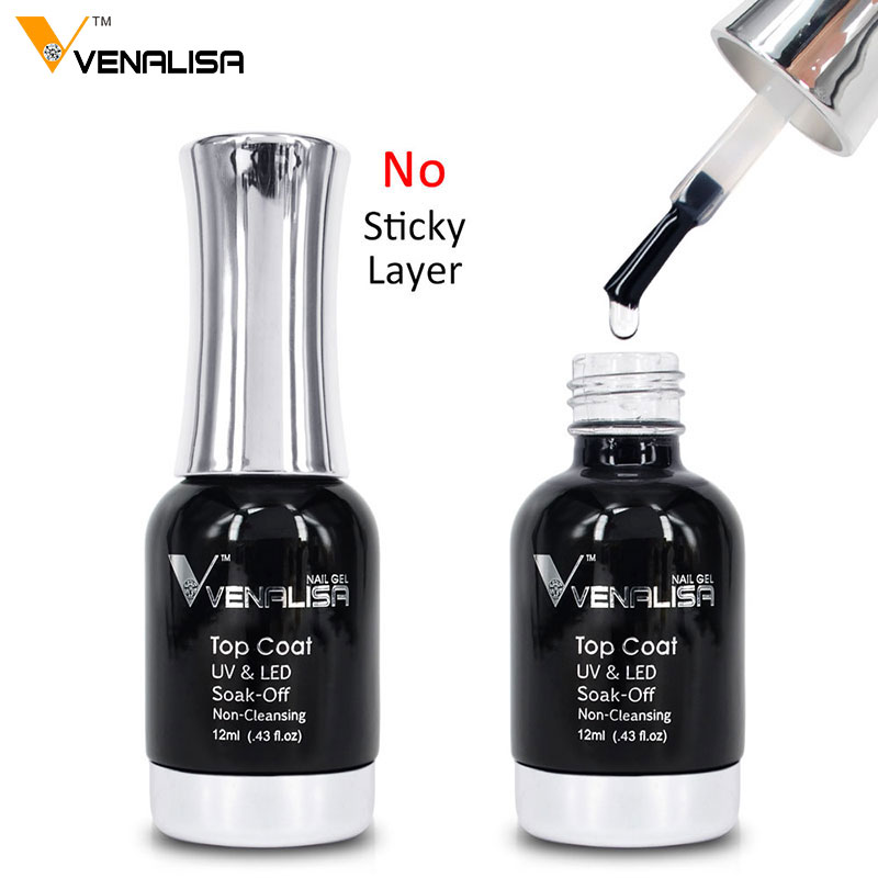 61508a Venalisa Nail Art Beauty Supply UV LED Gel Soak Off Gel ...