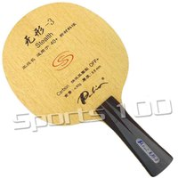 Palio official stealth 3 stealth3 Carbon OFF+ table tennis blade fast attack with loop good speed racquet sports