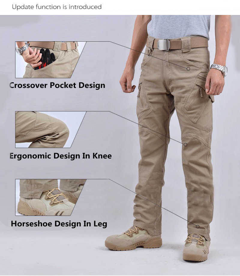 21d06d423f0f8 ... New TAD IX9 Tactical Outdoors Hike Pants Men Army Soldier Train  Military Pants Hunter Cargo Trousers ...