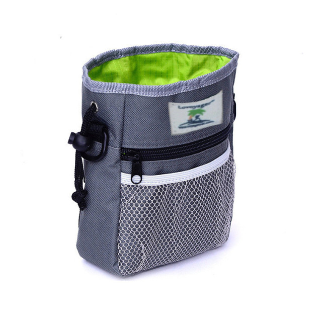2017 New Dog Training Snack Bag Thick Nylon Pet Dog Waist Belt Bag Snack Food Carrier Feed Pocket Shrinkable Dog Bag