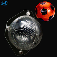 NEW 3D Football Soccer Chocolate Mold Candy SugarPaste Molds Cake Decorating Tools For Home Baking Cake