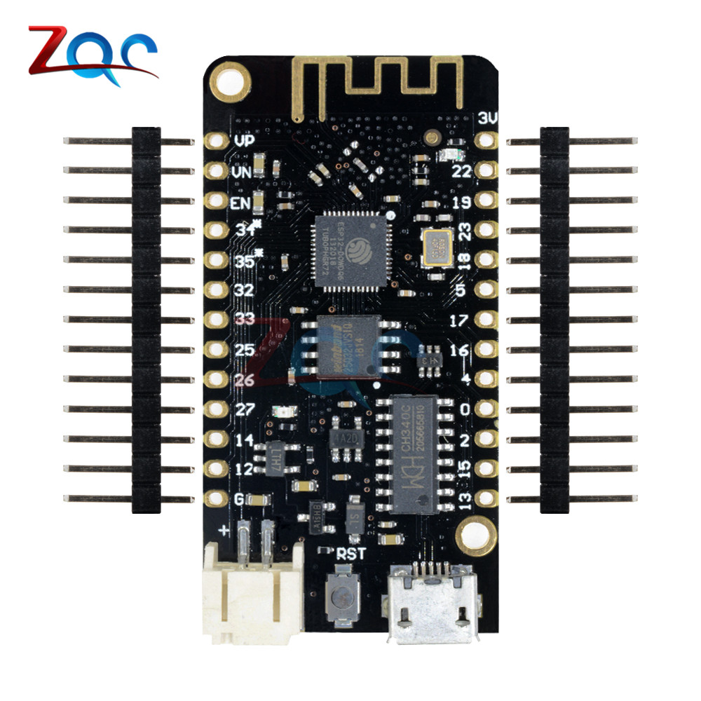 For WEMOS Lite V1.0.0 Wifi Bluetooth Development Board Antenna ESP-32 ESP32 CH340 CH340G Rev1 MicroPython 4MB Micro USB 50pcs ch340g ch340 sop 16 new original