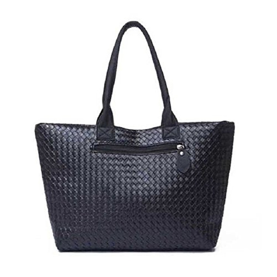 Women's Fashion PU Leather Messenger Hobo Handbag Purse Shoulder Bag Purse Lady Tote, Black